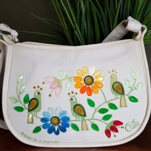 Vintage 1960s Enid Collins Birds of A Feather Bag